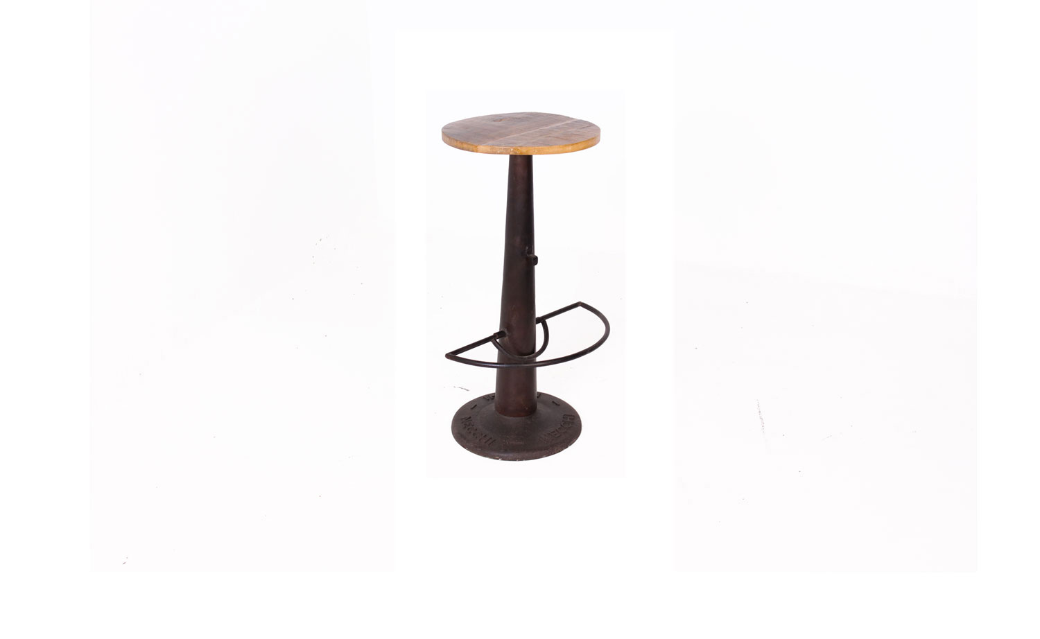 Timber Top Bar Stool