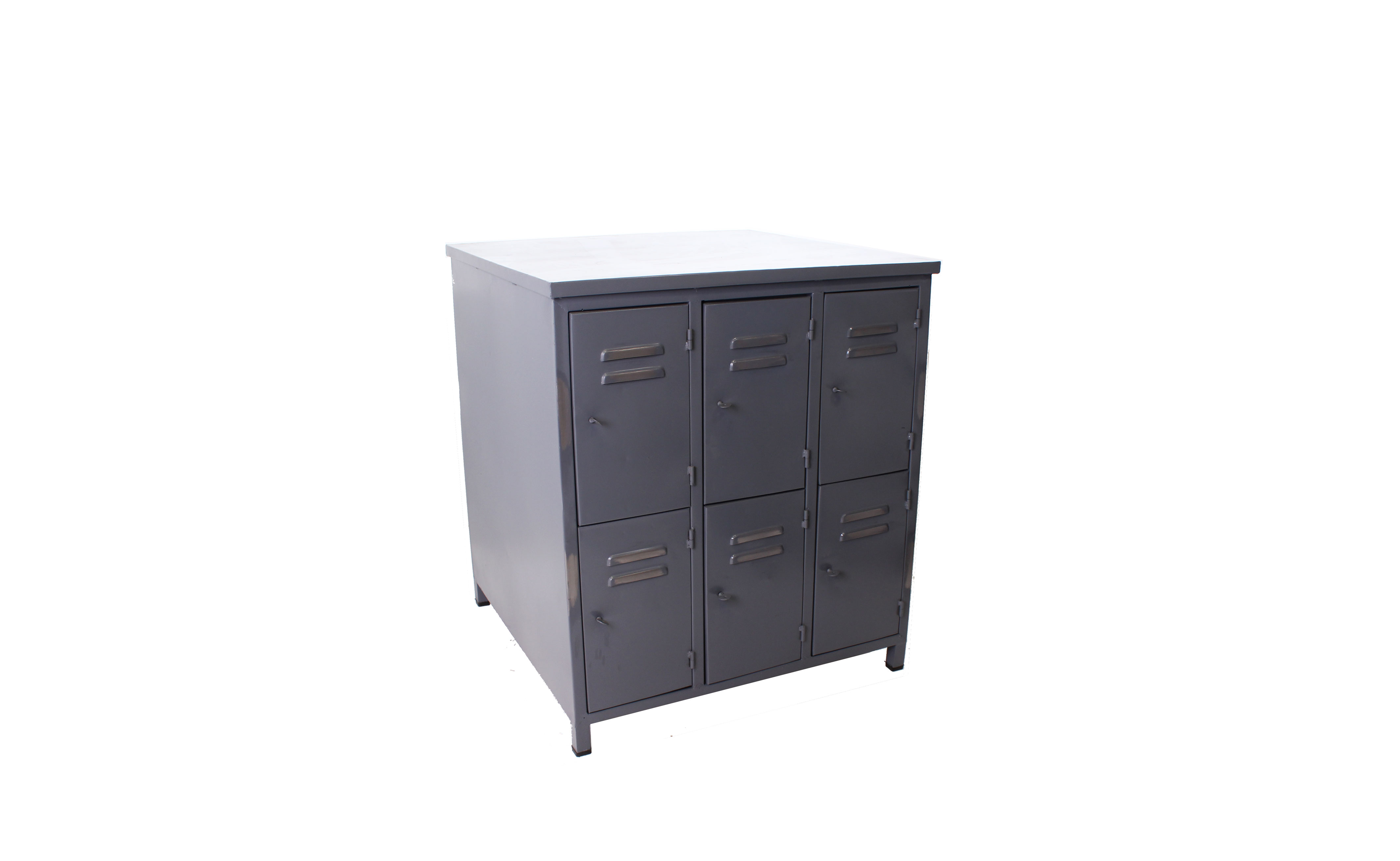 Iron Six Drawer Cabinet