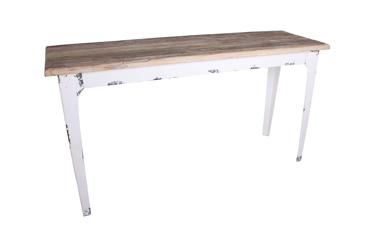 Whitewash Console Table